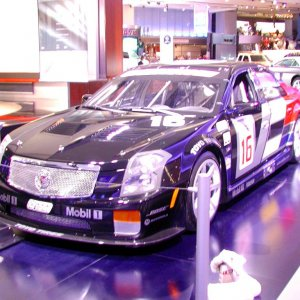 2004 - NAIAS - Introduction of CTS Race Car