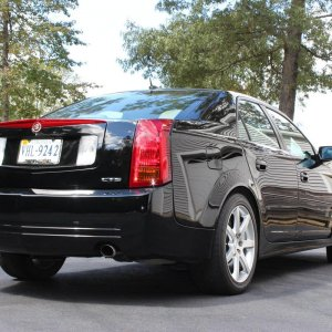 2005 Cadillac CTS-V in Black Raven
