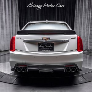2018 Cadillac CTS-V in Crystal White Tri-Coat