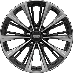 2022 Cadilac CT5-V Blackwing Wheel in Polished Dark Android Finish