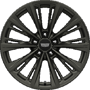 2022 Cadilac CT5-V Blackwing Wheel in Satin Graphite Dark Finish