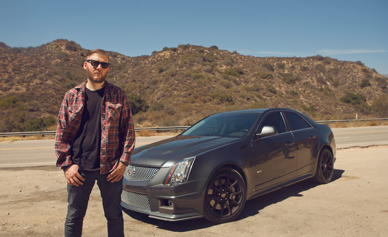 Celebrity Drive: Seether's Dale Stewart and his Cadillac CTS-V