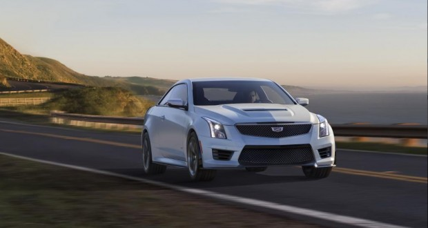 Official Photos of 2016 Cadillac ATS-V Break Cover Before LA Auto Show!