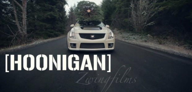 This CTS-V Christmas Tree BURNOUT Will Get You In The Holiday Spirit