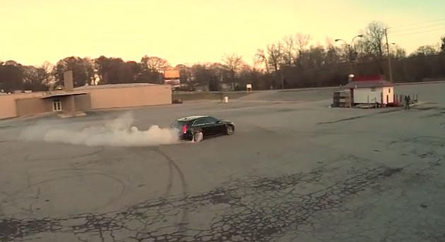Atlanta Drift – Cadillac CTS-V Wagon Drift Video