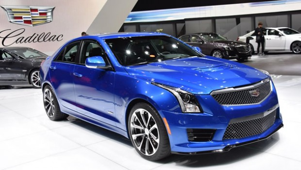 Video: European Premiere of 2016 Cadillac ATS-V and CTS-V
