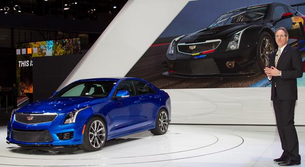 Video:  European Premiere of Cadillac ATS-V and CTS-V Geneva Motor Show 2015