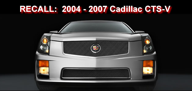 General Motors recalls 2004 – 2007 Cadillac CTS-V