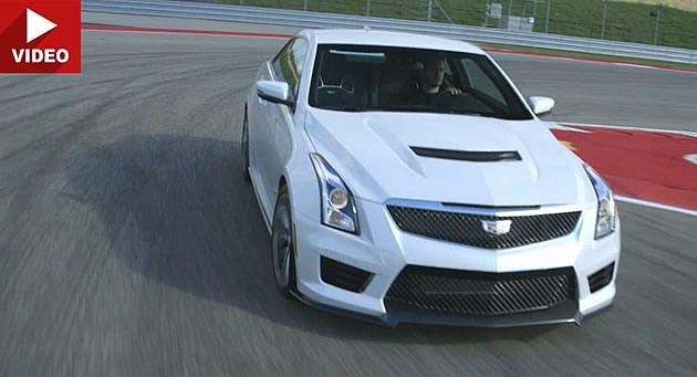 Video:  Motor Trend Reviews 2016 Cadillac ATS-V Assault On BMW