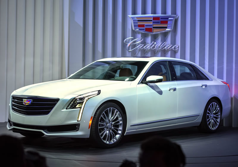Cadillac Takes the Wraps Off Its CT6 in New York