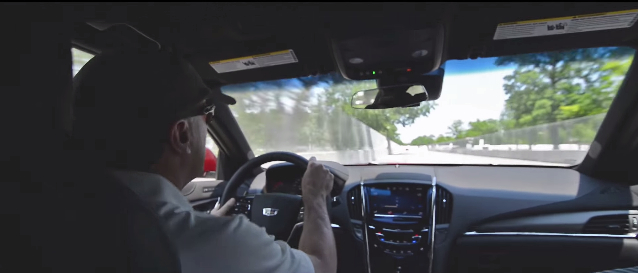 Ride With Andy Pilgrim As He Drives A 2016 ATS-V Around Belle Isle's Street Course