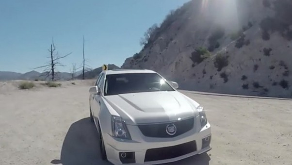 Video: Check out this Raucous Cadillac CTS-V Wagon with 638 HP!