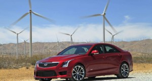 The 2016 Cadillac ATS-V is a 464 horsepower sports car powered by a turbocharged 3.6-liter V6. A six-speed manual transmission is available as well as an automatic with paddle shifters. It's available as a coupe or a sedan and has an MSRP of $61,460 to $63,660. (Myung J. Chun/Los Angeles Times/TNS)
