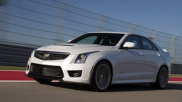2016 Cadillac ATS-V Sedan; Circuit of the Americas in Austin, TX