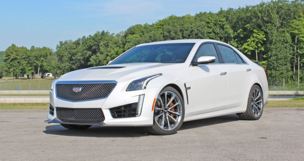 Review - First drive: 2016 Cadillac CTS-V