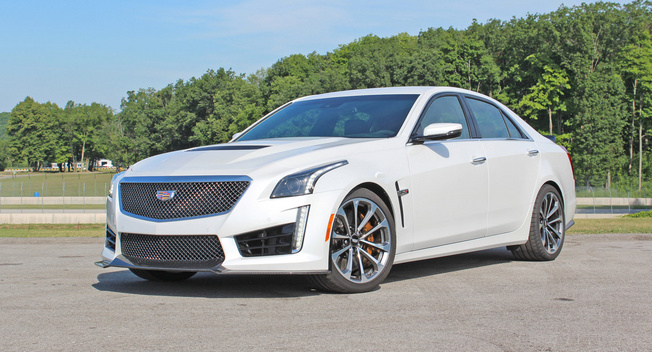 Review – First drive: 2016 Cadillac CTS-V