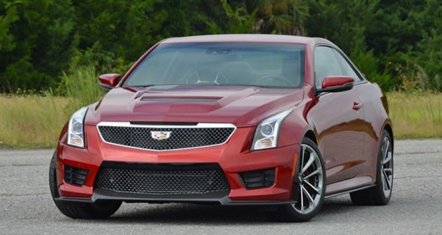 2016 Cadillac ATS-V Coupe Review & Test Drive