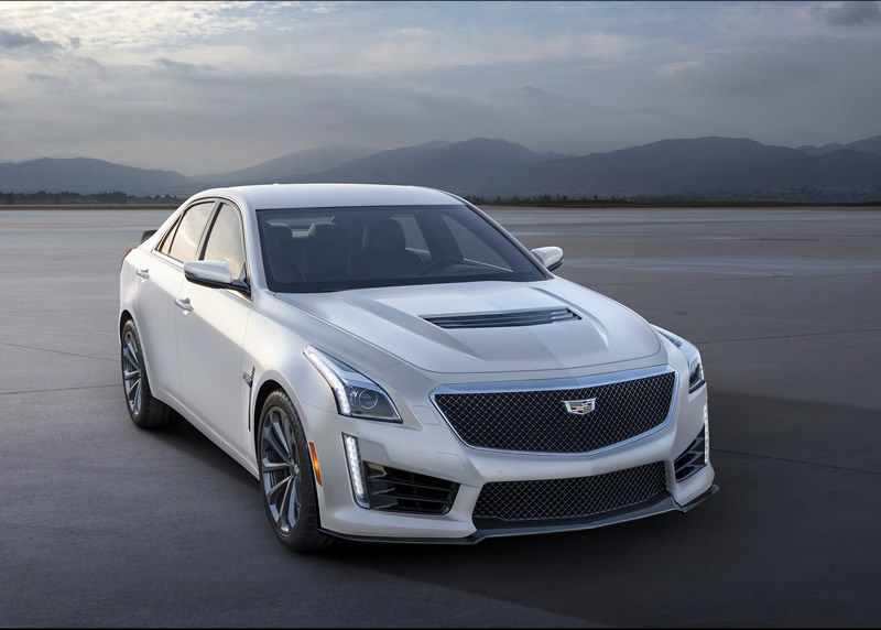 GM Announces Limited Edition 2016 Crystal White Frost Edition Cadillac V-Series