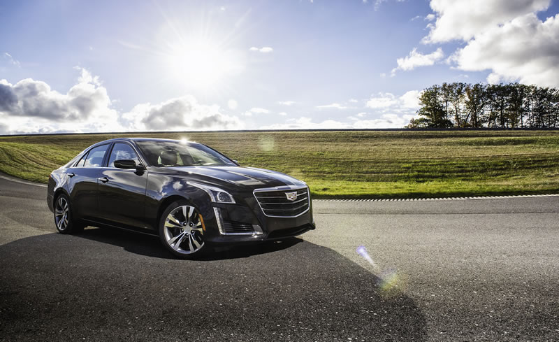 Cadillac CTS V-Sport Named 2016 Car and Driver 10 Best