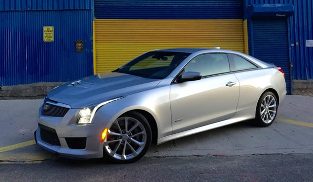 2016 Cadillac ATS-V Coupe is the best German sports car from Michigan