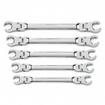 Apex Tool Group GearWrench Flex-Head Flare Nut Wrench Sets