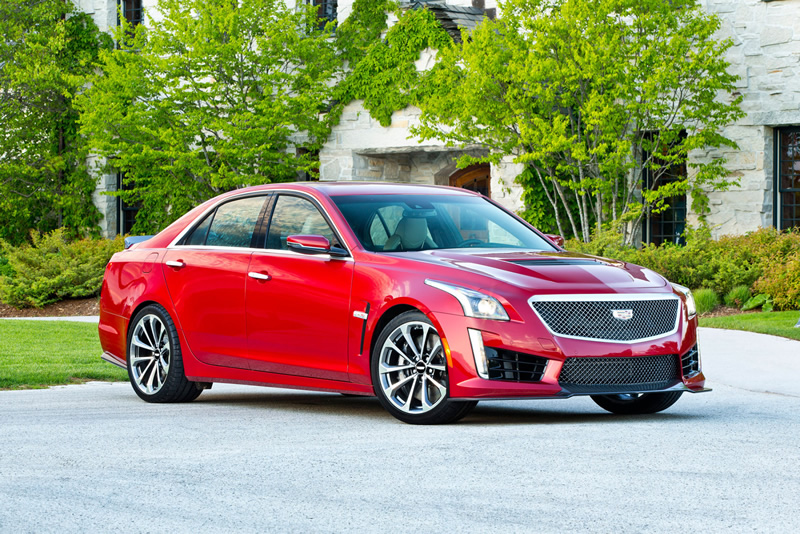 The 2016 Cadillac CTS-V Is the Best Sedan America Can Offer