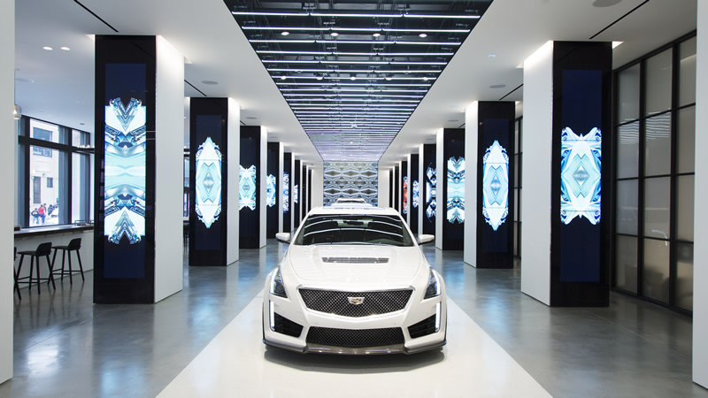 Cadillac Opens a State of the Art Brand Experience Center in New York