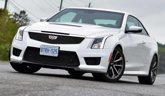 [VIDEO] Test Drive: 2016 Cadillac ATS-V
