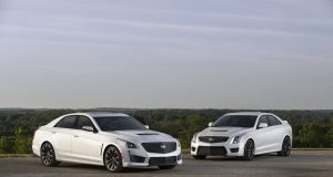 2017 Cadillac CTS-V super sedan and 2017 Cadillac ATS-V Sedan with the available Carbon Black sport package. The Carbon Black sport package – which includes the first-ever Black Chrome grille for V-Series models and the first-ever RECARO front seats for Cadillac ATS Sedan and Coupe models among additional exterior and interior appointments – further enhances the engaging performance and the striking design of Cadillac's driver's cars.