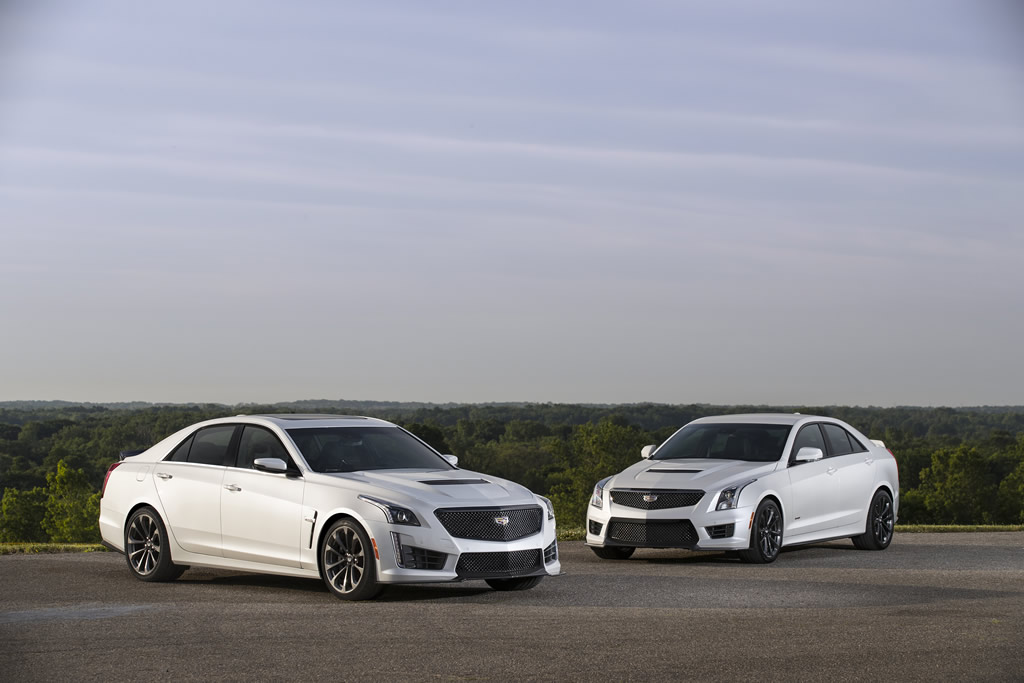 Cadillac Introduces Carbon Black Sport Package for ATS-V and CTS-V