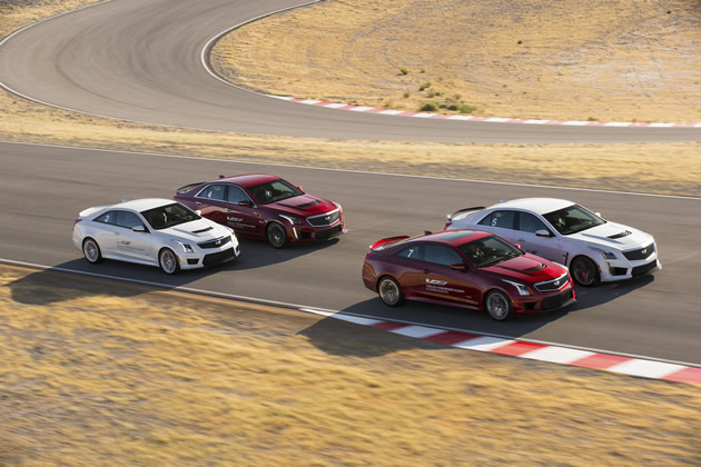 Every 2017 Cadillac ATS-V and CTS-V Purchase Includes the V-Performance Academy