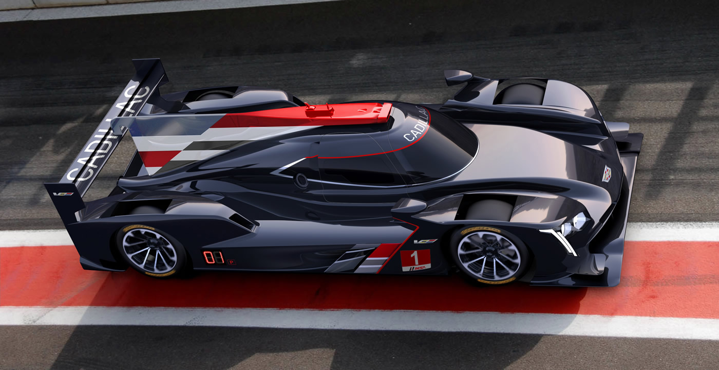 Cadillac to Re-Enter Prototype Endurance Racing with DPi-V.R Prototype Race Car For 2017
