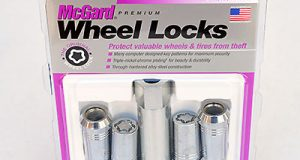 """A set of McGard """"Tuner"""" locks for ATS-V and CTS-V. Each set of McGards comes with four wheel locks and one lock key. Additional keys can be ordered from McGard. Ordering instructions are included with the locks. Image: Author."""