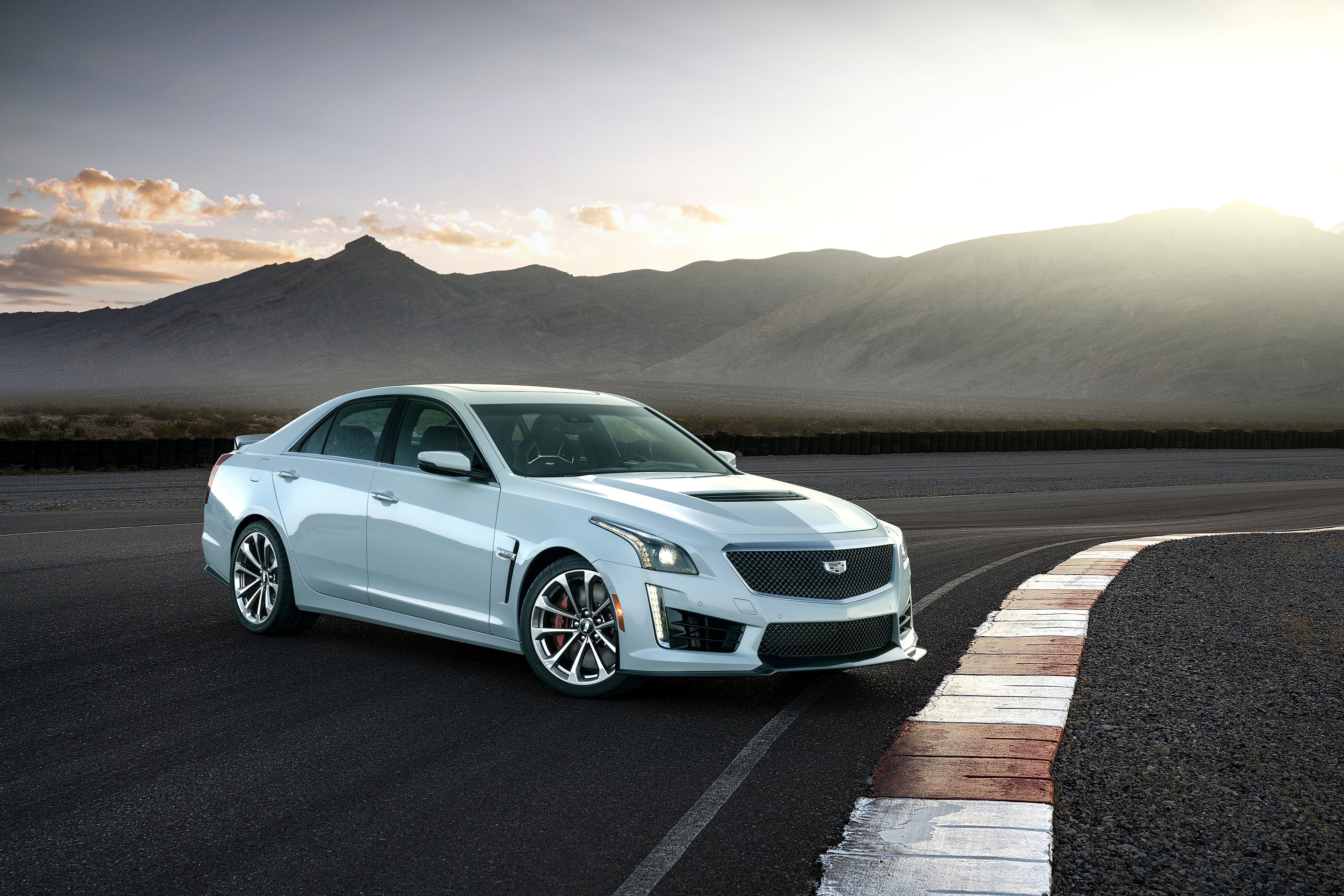 Cadillac Introduces the Limited Production 2018 Cadillac CTS-V Glacier Metallic Edition