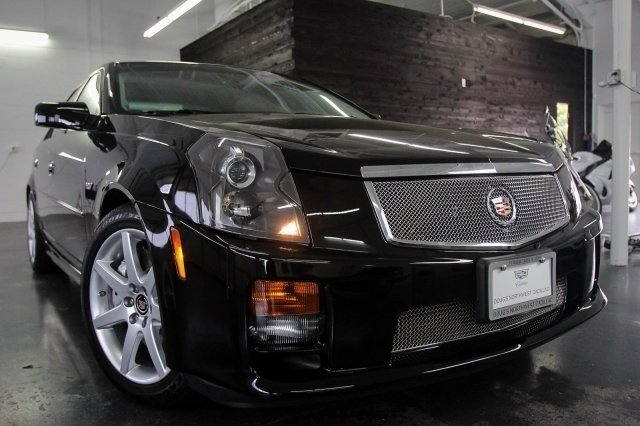 2007 Cadillac CTS-V For Sale with Only 107 Miles on the Odometer!