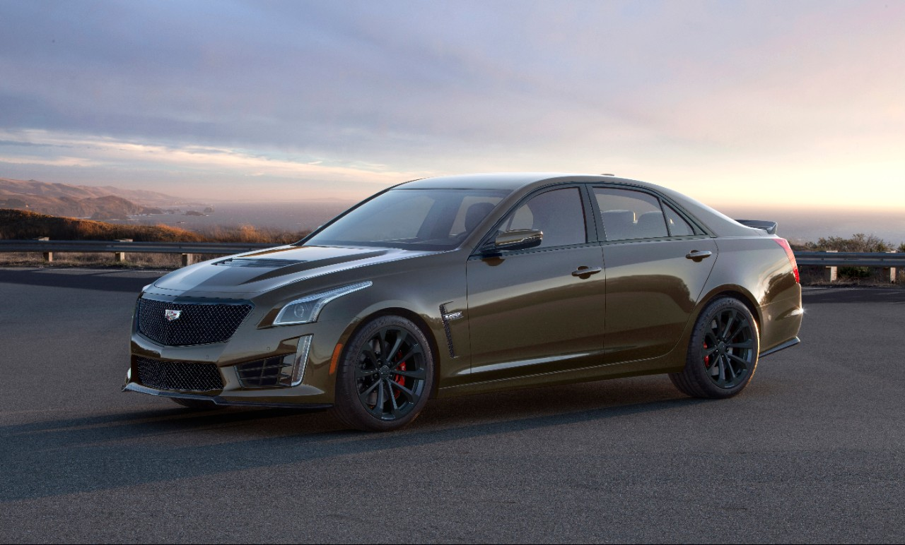 Cadillac Introduces the 2019 V-Series Pedestal Edition for ATS and CTS