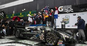Cadillac Racing; Cadillac DPi-V.R teams Konica Minolta, Mustang Sampling, Whelen Engineering, Juncos Racing, and JDC MotorSports at the Rolex 24 at Daytona in Daytona Beach, Florida; January 26-27, 2019 (©Richard Prince/Cadillac).