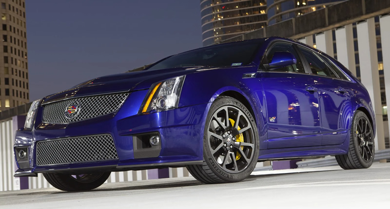 Pristine 2012 Cadillac CTS-V Wagon Sells for Record High $93,975