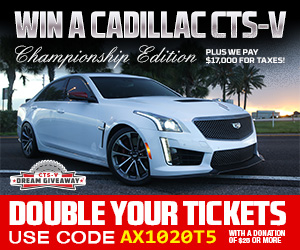 Cadillac CTS-V Dream Giveaway