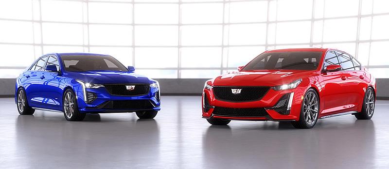 Cadillac Releases 2021 CT4-V and CT5-V Dealer Digital Brochure
