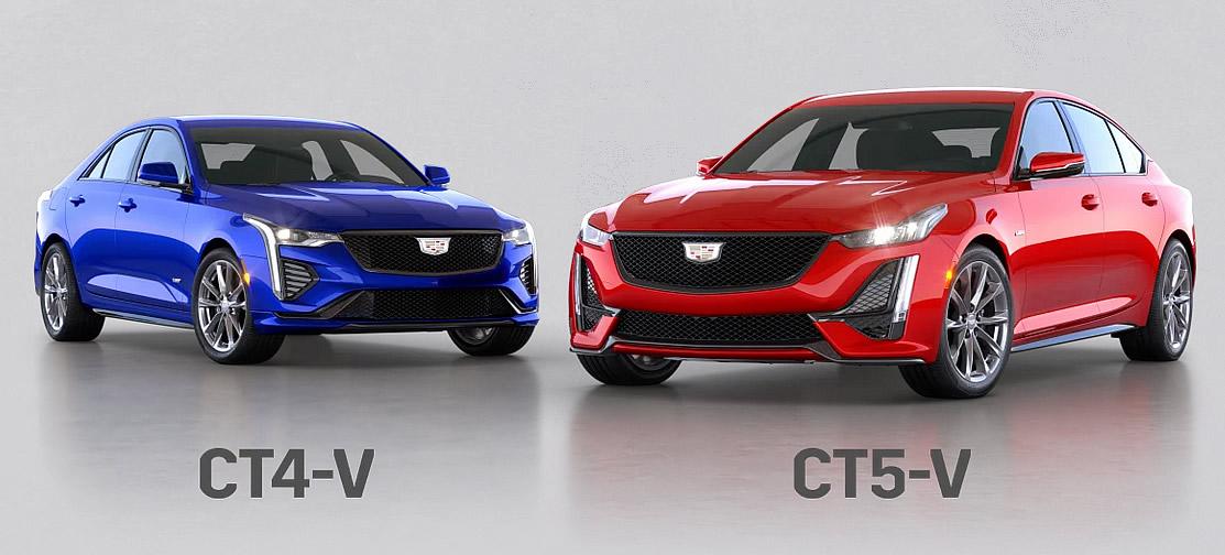 2021 Cadillac CT4-V and CT5-V Blackwing