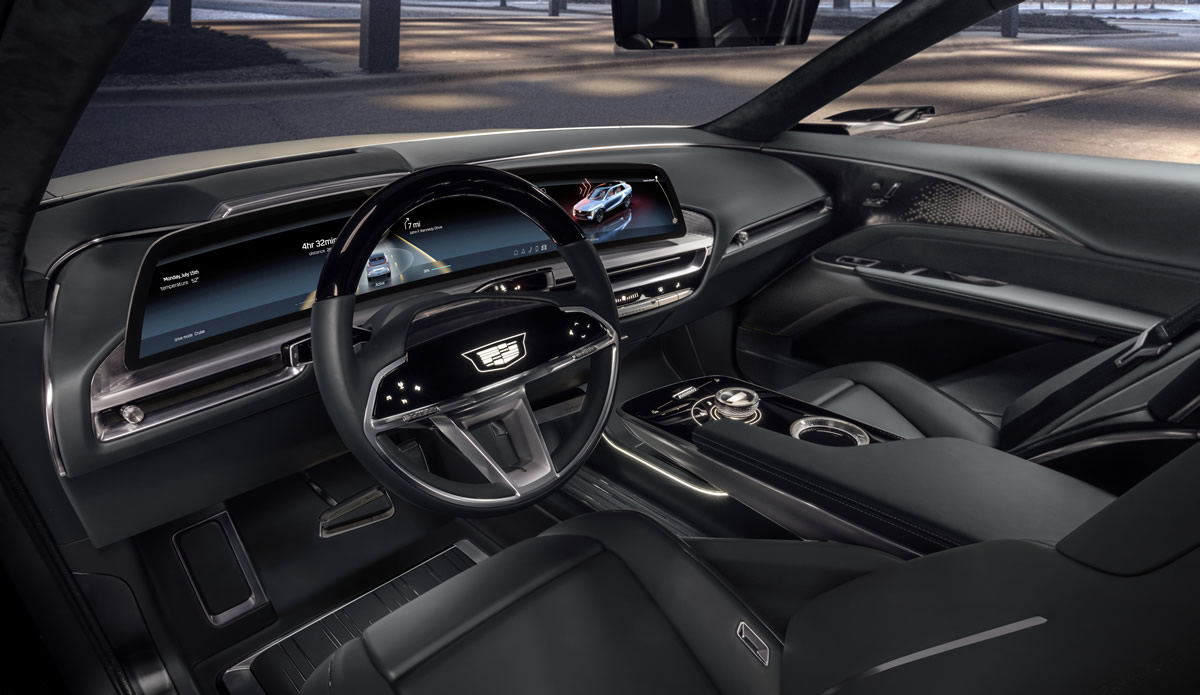 Cadillac Lyriq Interior