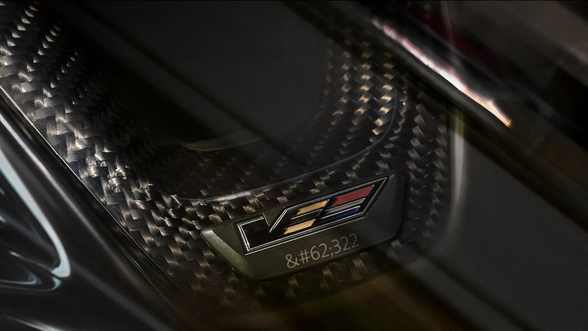 2022 Cadillac CT4-V CT5-V Blackwing Steering Wheel